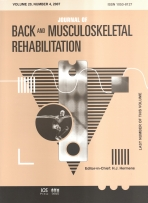 Journal of Back and Musculoskeletal Rehabilitation