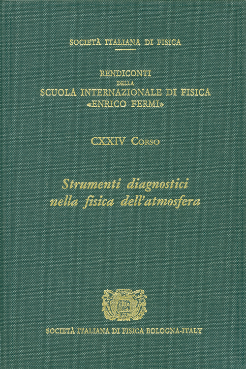 diagnostic tools in atmospheric physics fiocco g visconti g