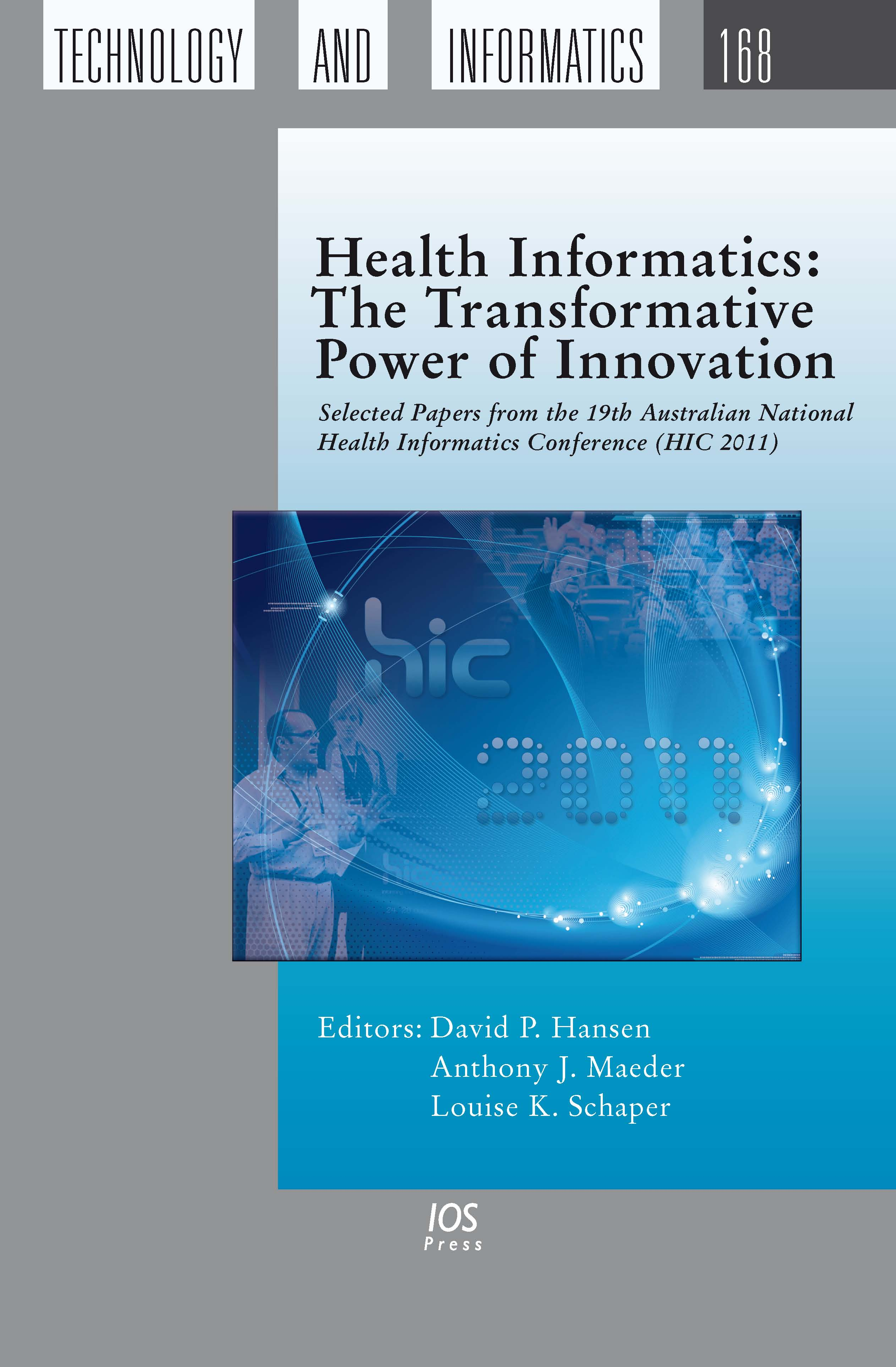 health informatics paper Essay on a current trend related to nursing/health field this paper is about the new field of nursing informatics.