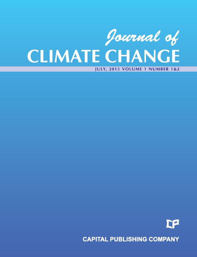 scholarly articles global warming