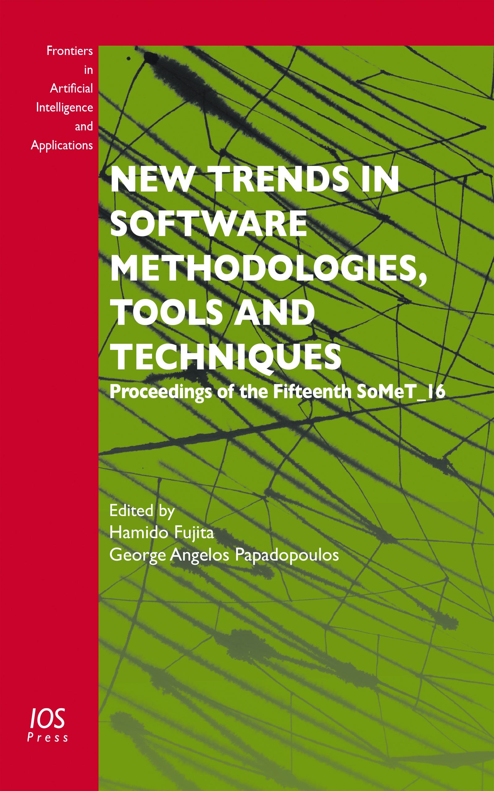 new trends in software methodologies tools and techniques fujita h revetria r