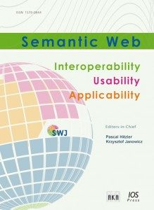 Cover for Semantic Web journal